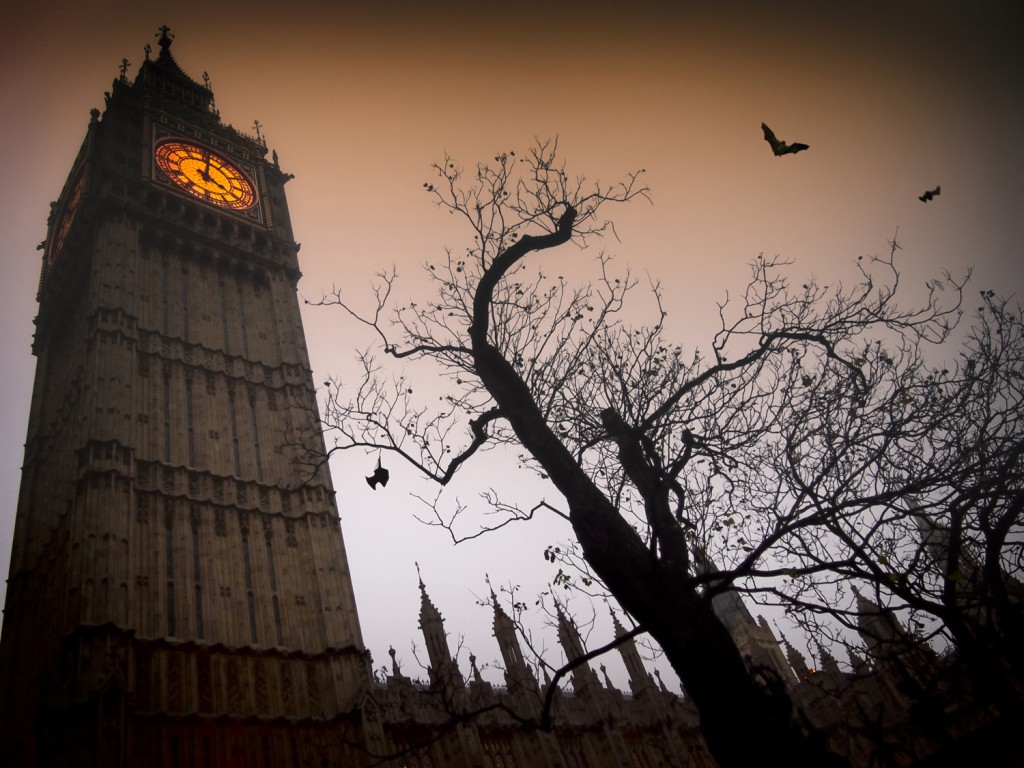 William Bailey Travel Journeys to the Spooky Side of London